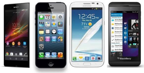 This week's topic of the week is smartphones